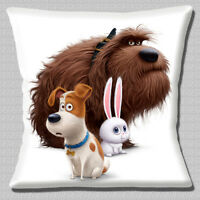 "NEW ICE AGE  Film Characters Sid Scrat Tiger Mammoth 16/"" Pillow Cushion Cover"