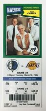 2004-05 Dallas Mavericks vs Los Angeles Lakers Ticket 3/10/05 Kobe 36 Points