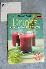 Drinks : Juices, Smoothies Frappes - Women's Weekly mini cookbooks OzSellerFast!