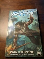 Dc Comics Aquaman War for the Throne. Jason Momoa Cover