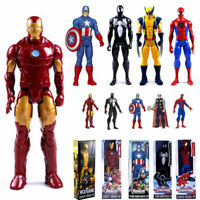 30cm The Avengers Superheld Spiderman Iron Man Thor Action Figuren Spielzeug Neu