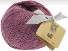Lana Grossa Alpaca Peru 200 - Colore 202, Grigio Rosso 50 G