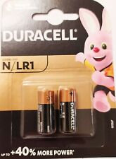 2 x Duracell LR1 E90 N Size 1.5V Extra Long Life Batteries + 40% more power