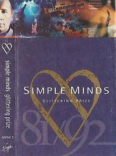 SIMPLE MINDS GLITTERING PRIZE 81/92 CASSETTE ALBUM Digitally Remastered Pop Rock