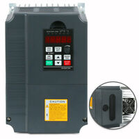NEW 7.5KW 220V 10HP 34A VFD VARIABLE FREQUENCY DRIVE INVERTER FOR CNC WITH CE