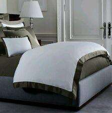 NIP Ralph Lauren Langdon Tweed Green White King Duvet Cover Set 13pc