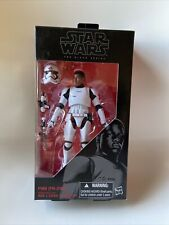 "Finn (FN-2187) 6"" The Black Series STAR WARS #17 Hasbro MIB NEW"