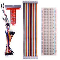 Expansion Board + GPIO Cable + Breadboard + Jump Cable Kit For Raspberry Pi 3B