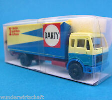 Roskopf h0 712 MERCEDES 1625 Darty France valise-Camion MB Ho 1:87 OVP rmm BOX