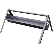 "Behlen Country Welded 4'L V Trough Mineral Feeder 14 Gauge 48""L x 32""W x 14""H"