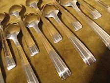 12 cuillères café métal argente art deco (coffee spoons) PD (nv)