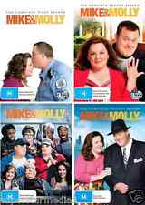 Mike And Molly Series  COMPLETE Season 1 - 4 : NEW DVD