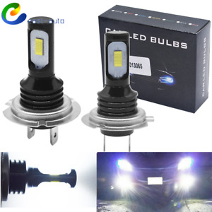 New H7 LED Headlight Bulbs Kit High Low Beam 100W 8000LM Super Bright White US