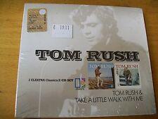 TOM RUSH  OMONIMO & TAKE A LITTLE WALK WITH ME  CD SIGILLATO