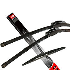Frente y parte trasera Kit de genuina HQ Automotive Aero Flat Wiper Blades AD81-121   HQ14A