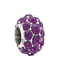 Chamilia Splendor Purple Swarovski Bead In 925 Sterling Silver,2025-0979