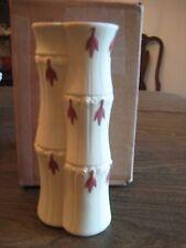 Wedgwood, Primrose Jasper Bamboo Style Vase,, 1975
