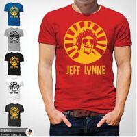 Mr Blue Sky T Shirt Jeff Lynne ELO Tribute Rock Music Retro Classic Cool Red