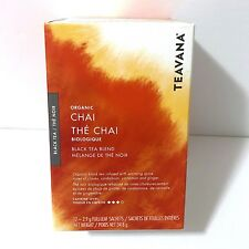 3X Starbucks Teavana Organic Chai Black Tea Blend Full Leaf 36 Counts Nov/20 New