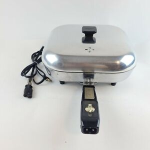 Vintage Sunbeam Controlled Heat Automatic Fry Pan Skillet with Lid FPL036011