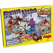 Haba Rhino héroe Super Batalla Juego de Mesa