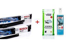 Bosch Wischer-Set vorne+hinten AR531S + H306 +Anti-Beschlag +Reinigungstücher