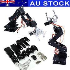 AU 6dof Mechanical Aluminium Robotic Arm Clamp Claw Mount Robot Tool Kit Set