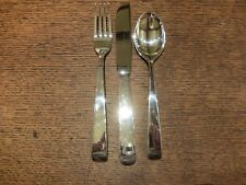 Robbe&Berking 'Alta' Sterling Silver Table KnifeTable Fork&Dessert Spoon