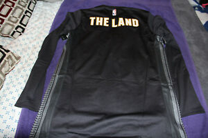 Cleveland Cavaliers Shirt Nike Longsleeve City Mens Large Jersey The Land Lebron