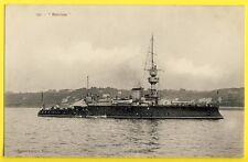 """cpa MARINE MILITAIRE Bateau NAVIRE de GUERRE French Navy Le Cuirassé """"BOUVINES"""""""