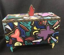 "ROKOKO ""Jungle"" ART BOX *RHODE ISLAND SCHOOL OF DESIGN* Memphis Pop Art 1996"