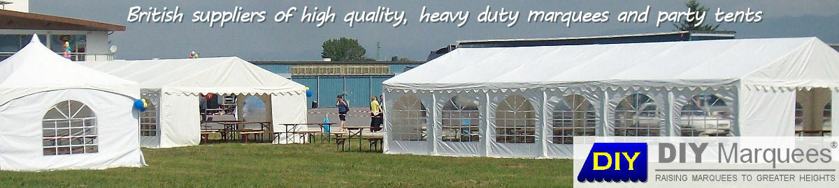 DIY Marquees, UK marquees for sale