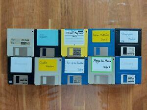 "100x 2DD Commodore Amiga Disketten 3,5"" Floppy Disc - Retro Sammlung Nr.23"