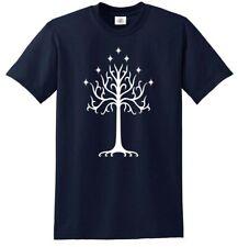 Tree of Gondor T-Shirt Oak Lord of the Rings Hobbit Saruman Gandalf Frodo LOTR