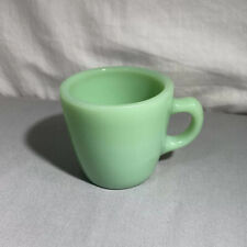 VINTAGE ANCHOR HOCKING FIRE KING JADEITE MUG C HANDLE