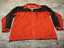 DODGE RACING ~ Men's Small ~ Vintage Style ~ Kenpo Zip Front Wind Rain Jacket