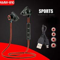 Bluetooth 4.2 Wireless Headphone Sports Earbuds In-Ear Headset Earphones CHZ