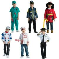 FANCY DRESS Boy Kid World Book Day Costume Clothes Outfit Emergency Services Lot