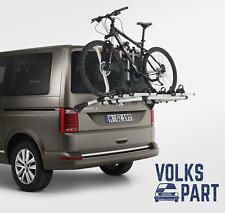original VW T6 SUPPORT BARRES DE TOIT SUPPORT VÉLO 4 VÉLOS POUR