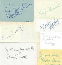 BEN HUR (CHARLTON HESTON 1959) SIGNED AUTOGRAPHS