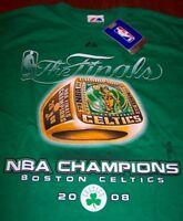 BOSTON CELTICS  History Repeats CHAMPIONSHIPS NBA BASKEBALL T-Shirt MEDIUM NEW