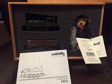 Steiff-Marklin Limited Edition Train Set, Comes in a wooden Box with COA. RARE!