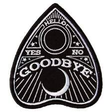 Sourpuss Planchette Ouija Iron On Patch Kustom Goth Punk Rockabilly Retro Tattoo