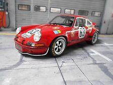 PORSCHE 911 RS 2.8 Racing Le Mans #63 Loos Barth 1973 1/504 GT SPIRIT 1:18
