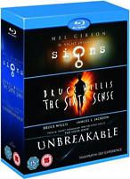M NIGHT SHYAMALAN Film Collection [Blu-ray Set] Signs, Unbreakable, Sixth Sense