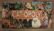 Cat-opoly Property Trading Board Game  100% Complete *no instructions* VGC