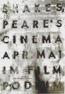 Original vintage poster SHAKESPEARE FILM FESTIVAL ZURICH 1998