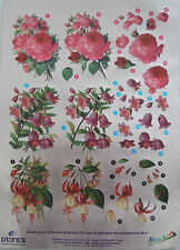 Dufex Decoupage Mixed Flowers for card making-scrapbooking-3 mixed flowers