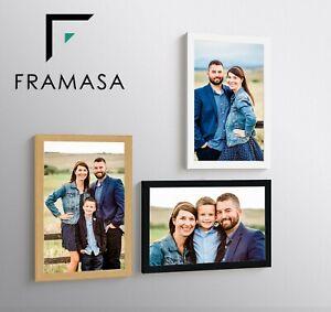 Photo Frames Poster Frames 40x50cm 40x30cm  70X50CM 80X60CM Black White Oak (UK)
