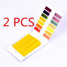 pH1-14 Full Range Litmus Acid Test Paper Tester Strips Indicator Urine 2x80pcs